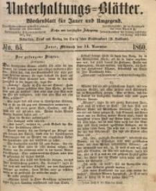 Unterhaltungs-Blätter, 1860, Jg. 36, No. 65