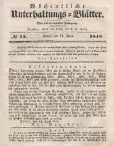 Wöchentliche Unterhaltungs-Blätter, 1848, Jg. 24, No. 15