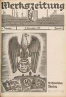 Werkszeitung der Schlesischen Bergwerks- und Hütten-Aktiengesellschaft in Beuthen O/S., 1937, Jg. 5, Nr. 18