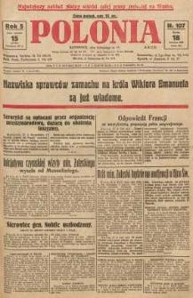 Polonia, 1928, R. 5, nr 107