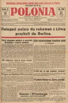 Polonia, 1928, R. 5, nr 110