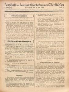 Zeitschrift der Landwirtschaftskammer Oberschlesien, 1931, Jg. 5, Heft 30