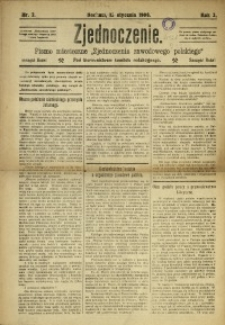 Zjednoczenie, 1906, R. 3, nr 2
