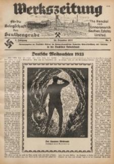 Werkszeitung für die Belegschaft der Beuthengrube, 1933/1934, Jg. 1, Nr. 2