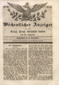 Wöchentlicher Anzeiger, 1846, Jg. 29, No. 36