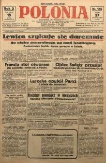 Polonia, 1926, R. 3, nr 115