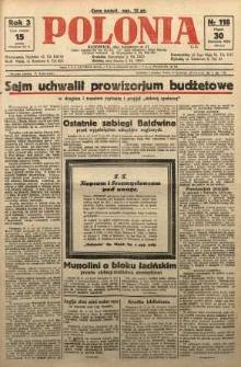Polonia, 1926, R. 3, nr 118