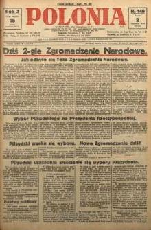 Polonia, 1926, R. 3, nr 149
