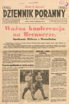 Dziennik Poranny, 1940, R. 1, nr 185
