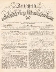 Zeitschrift des Oberschlesischen Berg- und Hüttenmännischen Vereins, 1879, Jg. 18, August