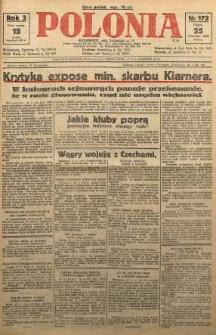 Polonia, 1926, R. 3, nr 172