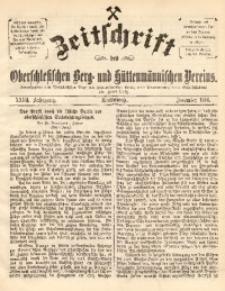Zeitschrift des Oberschlesischen Berg- und Hüttenmännischen Vereins, 1888, Jg. 27, December
