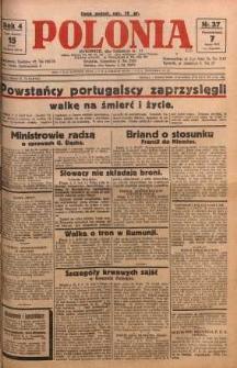 Polonia, 1927, R. 4, nr 37