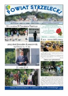 Powiat Strzelecki : bezpłatny dwutygodnik samorządu powiatu strzeleckiego 2011, nr 10 (180).