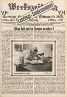 Werkszeitung der Vereinigte Oberschlesische Hüttenwerke A. G., Gleiwitz, 1929, Jg. 3, Nr. 5