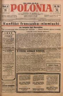 Polonia, 1927, R. 4, nr 70