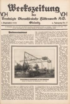 Werkszeitung der Vereinigte Oberschlesische Hüttenwerke A. G., Gleiwitz, 1932, Jg. 6, Nr. 17