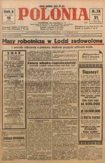 Polonia, 1927, R. 4, nr 79