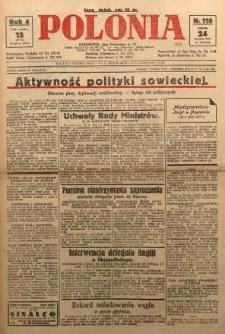 Polonia, 1927, R. 4, nr 110