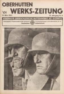 Oberhütten-Werks-Zeitung, 1941, Jg. 15, Nr. 6