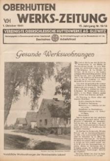 Oberhütten-Werks-Zeitung, 1941, Jg. 15, Nr. 18/19