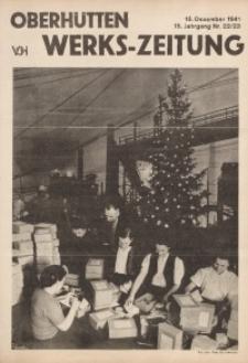 Oberhütten-Werks-Zeitung, 1941, Jg. 15, Nr. 22/23