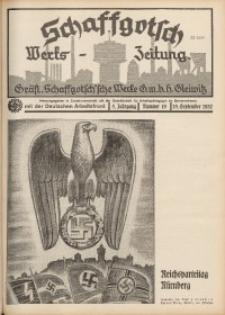 Schaffgotsch Werks-Zeitung, 1937, Jg. 5, Nr. 19