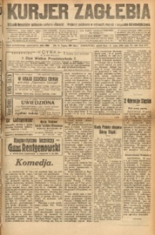 Kurjer Zagłębia, 1922, R. 16, nr 105