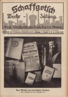 Schaffgotsch Werks-Zeitung, 1940, Jg. 8, Nr. 20