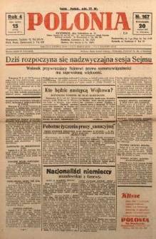 Polonia, 1927, R. 4, nr 167