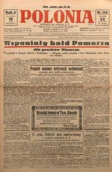 Polonia, 1927, R. 4, nr 170