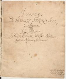 Illustris Domini Samuelis Strykii Jc Collegium ad Schwederi Introductionem in jus publicum Imperii Romano-Germanici