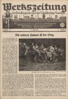 Werkszeitung der Preussengrube und der Schachtanlage Sosnitza, 1940, Jg. 7, Nr. 6