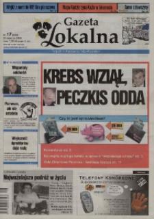 Gazeta Lokalna : tygodnik Kędzierzyńsko-Kozielski 2004, nr 17 (252).