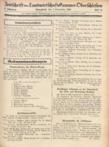 Zeitschrift der Landwirtschaftskammer Oberschlesien, 1932, Jg. 6, Heft 36