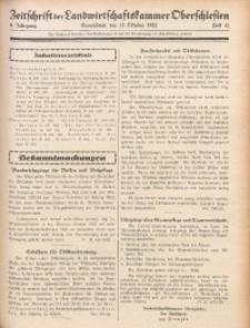 Zeitschrift der Landwirtschaftskammer Oberschlesien, 1932, Jg. 6, Heft 42