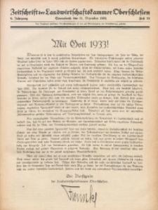 Zeitschrift der Landwirtschaftskammer Oberschlesien, 1932, Jg. 6, Heft 53
