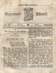 Erste Schweidnitzer Gegenwart-Chronik, 1839, No. 11