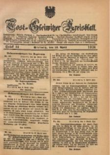Tost-Gleiwitzer Kreisblatt, 1924, St. 11