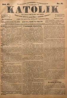 Katolik, 1909, R. 42, nr 18