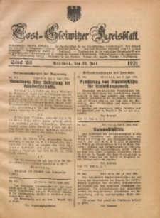 Tost-Gleiwitzer Kreisblatt, 1924, St. 23