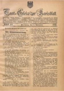 Tost-Gleiwitzer Kreisblatt, 1926, St. 45