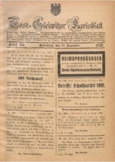 Tost-Gleiwitzer Kreisblatt, 1926, St. 50