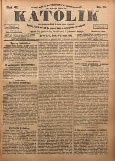 Katolik, 1909, R. 42, nr 31