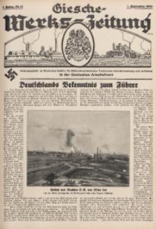 Giesche Werks-Zeitung, 1934, Jg. 1, Nr. 17