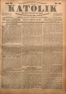 Katolik, 1909, R. 42, nr 55