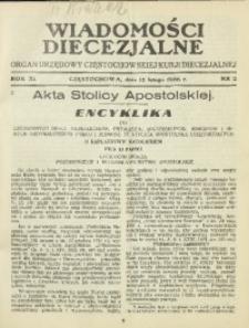 Wiadomości Diecezjalne, 1936, R. 11, nr 2