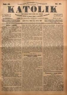 Katolik, 1909, R. 42, nr 67