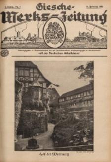 Giesche Werks-Zeitung, 1938, Jg. 5, Nr. 4
