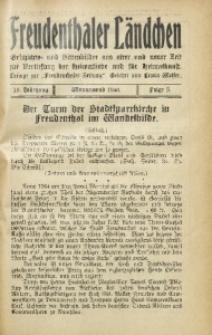 Freudenthaler Ländchen, 1930, Jg. 10, Folge 5